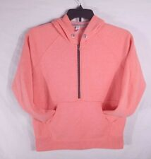 Under Armour Logo Heat Gear Pink XS Women's Hoodie No Strings Athletic Clothing