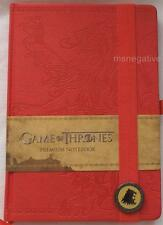 Game of Thrones Lannister Hardcover A5 Writing Journal Notebook Licensed
