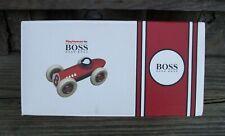"Hugo Boss Indy Style Playforever Race Car Original Box RARE 9"" STORE EXCLUSIVE"