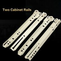 Drawer Track Slides Two Cabinet Rails Thickening Wardrobe Keyboard Roller Pulley