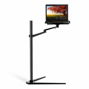 """Height adjustable laptop(10-17.3"""") floor bedside couch office stand -RB"""