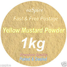 Yellow Mustard Powder 1kg  Herbs & Spices -  ozSpice