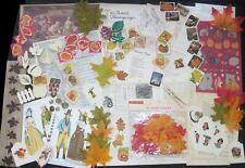 Thanksgiving�Fall Lot~Junk Journal Art Vtg Scrap Paper Pack&Mix Media Supplies