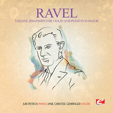 Ravel - Tzigane Rhapsody for Violin Piano D Major [New CD] Extended Play, Manufa