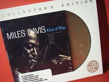 "MILES DAVIS "" KIND OF BLUE "" (AUDIOPHILE SONY-24KARAT-GOLD-CD/FACTORY SEALED)"