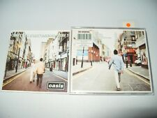 Oasis What's The Story) Morning Glory (CD 1995) cd + Inlays are  Ex Condition
