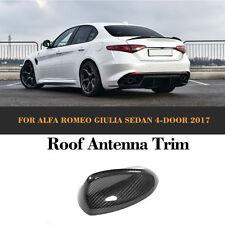 Carbon Fiber Auto Roof Shark Fin Antenna Fit For Alfa Romeo Giulia 4-Door 2017