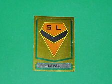 N°82 ECUSSON BADGE STADE LAVALLOIS LAVAL PANINI FOOTBALL 88 1987-1988