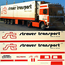 VOLVO straver transport HOLLANDE (NL) 1:87 CAMION autocollant décalcomanie