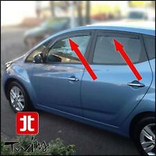 4 Deflettori Aria Antiturbo Oscurati Hyundai ix20 ix 20 antipioggia
