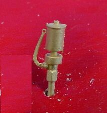 O/On3/On30 WISEMAN BACK SHOP BRASS PART BS-216 TOP MOUNT SINGLE CHIME WHISTLE