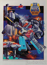 Gobots Nestle Quik Poster 14x19 inch 1980s Super Go Bots Promo Cy-Kill Leader-1