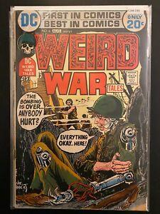 Weird War Tales 6 Low Grade DC Comic Book CL66-165