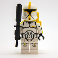 Lego Star Wars Custom P1 Clone Commander Trooper with Flamethrower & Backpack