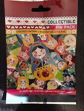 Disney Pins Character Nesting Dolls Pin Pack Set