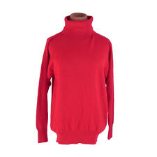 Burberry knit Red Woman Authentic Used G1199