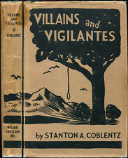 Villains and Vigilantes Californiana San Francisco 49ers West Pioneers 1st 1936