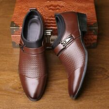 Men's Leather Shoes Formal Business Dress Slip On Casual Oxfords Flats Pumps New
