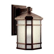 "Kichler Energy Efficient Prarie Rock 14"" Led Outdoor Wall Lantern"