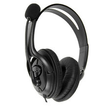 Luxury Wired Pro Gaming Headset Headphones w/Mic For Wii Sony PS4 PC