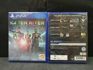 (ASIA ENGLISH VERSION) PS4 Kamen Rider Memory of Heroez (Brand New)