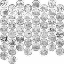 1999-2008 P US State Quarters Complete Uncirculated Collectible Set of 50 coins