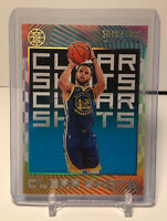 2019-20 Panini Illusions Stephen Curry Clear Shots Blue Insert #9