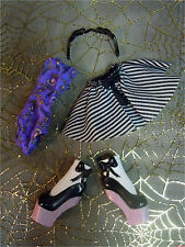 Monster High Rochelle Goyle DANCE CLASS Ballet Outfit Clothes Shoes Headband