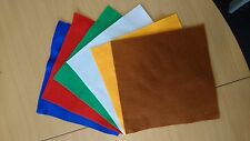 CRAFT FELT (2MM THICK) ADHESIVE BACKED - VARIOUS COLOURS AND SIZES AVAILABLE