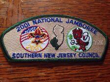 MINT 2001 JSP Southern New Jersey Council Green Border