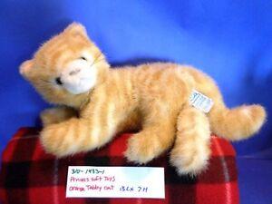 Princess Soft Toys Orange Tabby Cat plush(310-1433-1)