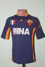 14c9ebe9e62 AS Roma Italy Football Shirt Jersey Maglia Soccer 2001 2002 Third Size M  Kappa