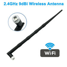 1x 2.4GHz 9dB SMA WIFI Booster Wireless Antenna Aerial for PCI Card Modem Router