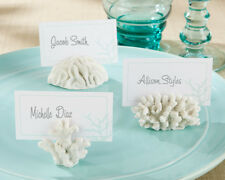 72 Nautical Coral Place Card Photo Holders Beach Theme Wedding Favors