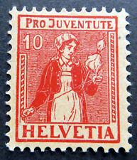 10 C. Pro Juventute 1917, Mi.Nr. 135 postfrisch. (P0686)