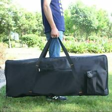 Electric 76 Key Keyboard Piano Organ Carry Bag Case Portable Black Oxford Cloth
