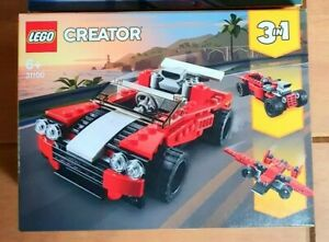 NEW LEGO CREATOR 31100 3 IN 1 RACING CAR BRAND NEW SEALED