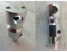 SUPPORTO MANUBRIO alluminio PIAGGIO GILERA TYPHOON NRG RUNNER alt.130mm SCOOTER