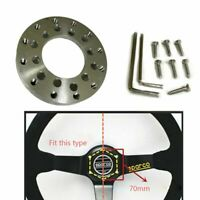 For Logitech G25 G27 Steering Wheel Stainless Steel Adapter Fits 70mm Wheel