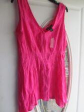 fa2028fda435a Ashley Stewart Woman Plus Size 14 Pink V Neck Asystemrica Tank Top