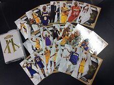 2015-16 Panini Kobe Bryant Herovillain Hero Villain Gold Set 21 card