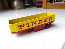 Remorque Fiche 75 Transport des gradins Pinder Cirque Altaya 1/64 miniature