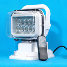 50W 360° Cree LED Search Light Remote Control Marine Boat Car Camping Stage Lamp