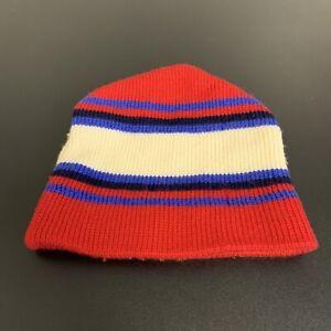 VTG Meister 100% Wool Winter Hat Warm 1980s Adult Mens Vintage Ski Outdoors