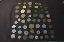Worlds Coins Collection Lot ,54 old coins