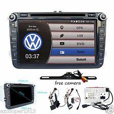 Camera+Car DVD Player GPS Navigator Radio Stereo for VW Golf 5 V 6 VI MK5 PLUS