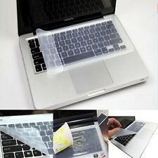 """Universal Soft Silicone Clear Keyboard Cover Skin Protector For Laptop 11 13 15"""""""