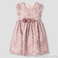 Mia & Mimi Little Girls Fancy Luxe Lace Dress Special Occasion/Princess 2T