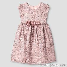 NEW Mia & Mimi Little Girls Fancy Luxe Lace Dress Special Occasion/Princess 2T