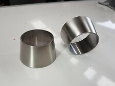 2.5inch to 2inch exhaust reducer cone (63.5mm to 50mm) stainless steel